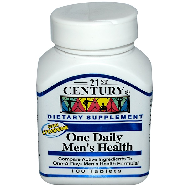 21st Century, One Daily Men's Health, 100 Tablets (Discontinued Item)