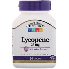 21st Century, Lycopene, 25 mg, 60 Tablets