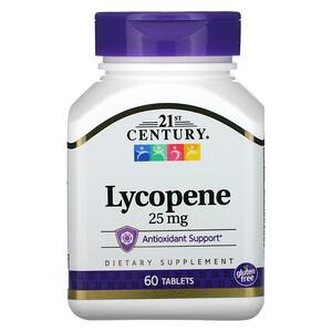 21 Сенчури, Lycopene, 25 mg, 60 Tablets отзывы покупателей