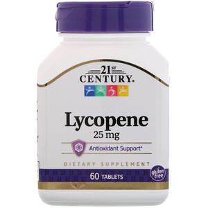 21 Сенчури, Lycopene, 25 mg, 60 Tablets отзывы