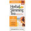21st Century, شاي عشبي للتخسيس، بنكهة البرتقال، خالٍ من الكافيين، 24 كيس شاي، 1.7 أونصة (48 جم)