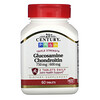 21st Century, Glucosamine / Chondroitin, Triple Strength, 750 mg / 600 mg, 60 Tablets