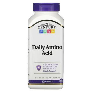 21st Century, Daily Amino Acid, 120 Tablets