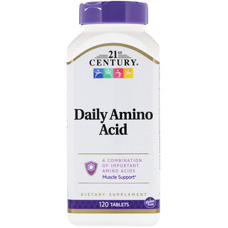 21st Century, Daily Amino Acid, 120 Tablets