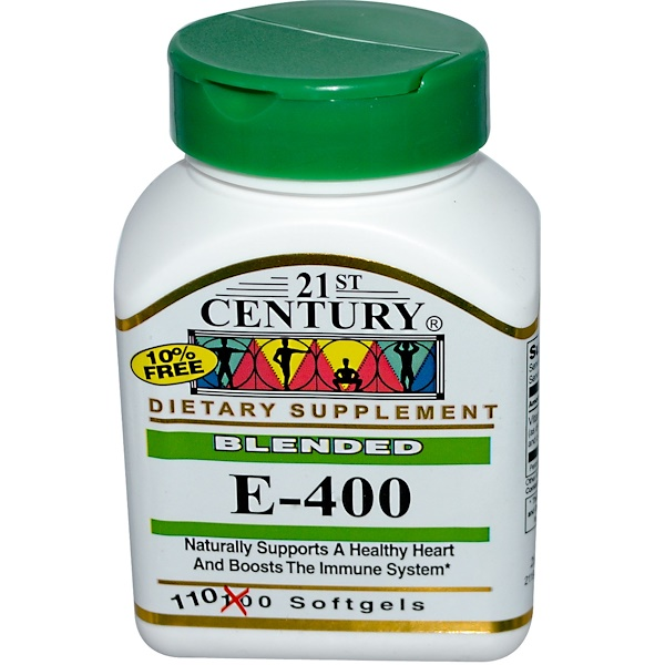 21st Century, Blended E-400, 110 Softgels (Discontinued Item)