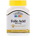 Folic Acid, 800 mcg, 180 Easy to Swallow Tablets - изображение