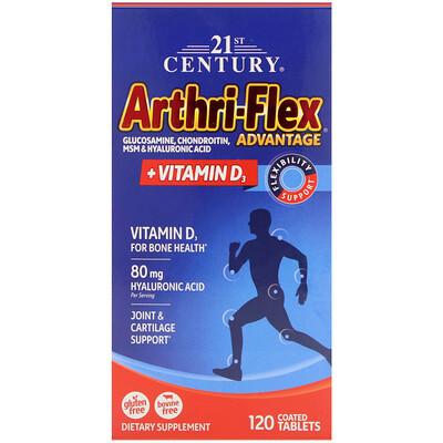 Arthri-Flex Advantage с витамином D3, 120 таблеток, покрытых оболочкой