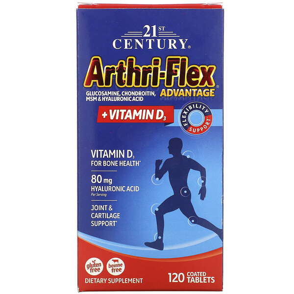 Arthri-Flex Advantage + Vitamin D3, 120 Coated Tablets