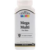 Отзывы о 21st Century, Mega Multi, для мужчин, мультивитамины и мультиминералы, 90таблеток