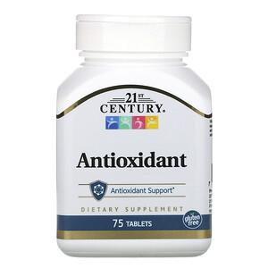 21 Сенчури, Antioxidant, 75 Tablets отзывы покупателей