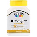 Комплекс витаминов группы B 21st Century отзывы