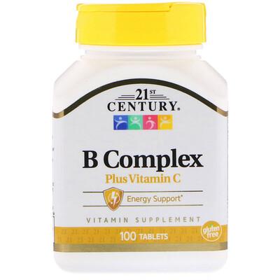 Комплекс витаминов группы B с витамином C, 100 таблеток