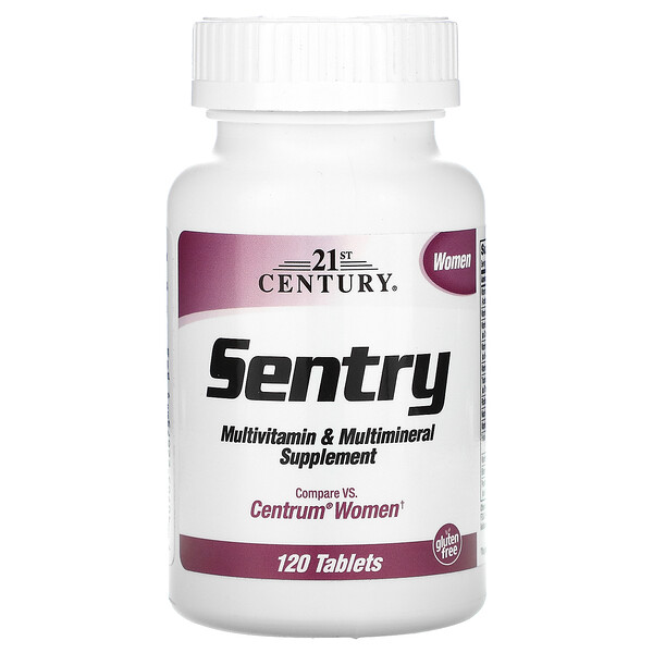 Sentry Women, Multivitamin & Multimineral Supplement, 120 Tablets