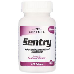 21 Сенчури, Sentry Women, Multivitamin & Multimineral Supplement, 120 Tablets отзывы