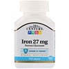 21st Century, Iron, 27 mg, 110 Tablets