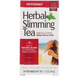 Отзывы о 21st Century, Herbal Slimming Tea, Peppermint, Caffeine Free, 24 Tea Bags, 1.7 oz (48 g)