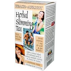 21st Century, Herbal Slimming Tea, Peach-Apricot, Caffeine Free, 24 Tea Bags, 1.6 oz (45 g)