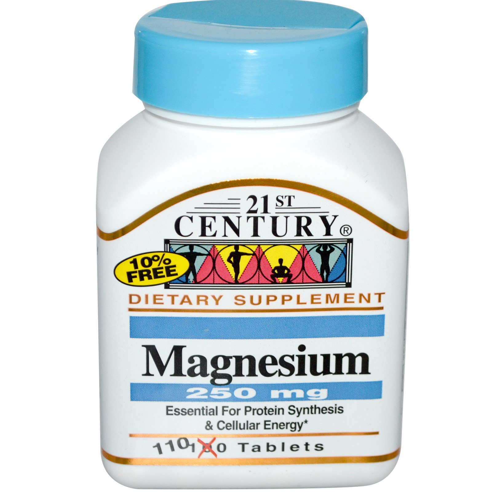 Magnesium Blackmores Total Calcium D3 200 Tablet 21st Century 250 Mg 110 Tablets