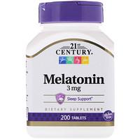 Мелатонин, 3 мг, 200 таблеток - фото