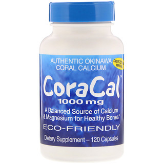 21st Century, CoraCal, 1000 mg, 120 Capsules