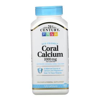 21st Century, Coral Calcium, 1000 mg, 120 Capsules