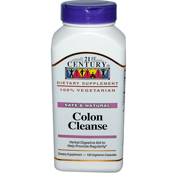 21st Century, Colon Cleanse, 120 Veggie Caps