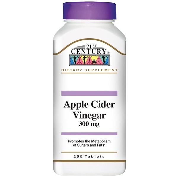 21st Century, Apple Cider Vinegar, 300 mg, 250 Tablets