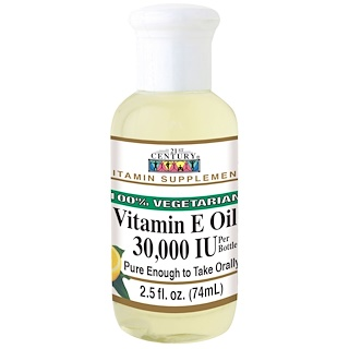 21st Century, Vitamin E Oil, 30,000 IU, 2.5 fl oz (74 ml)