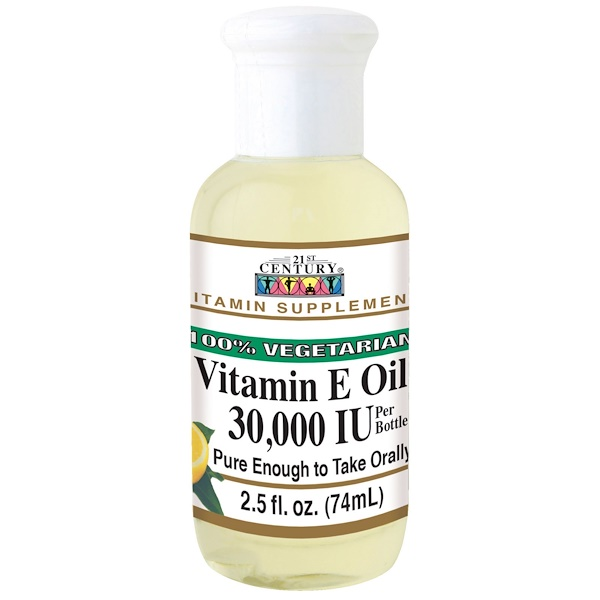 Vitamin E Oil, 30,000 IU, 2.5 fl oz (74 ml)