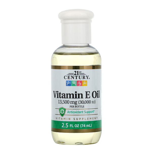 Vitamin E Oil, 13,500 mg (30,000 IU), 2.5 fl oz (74 ml)