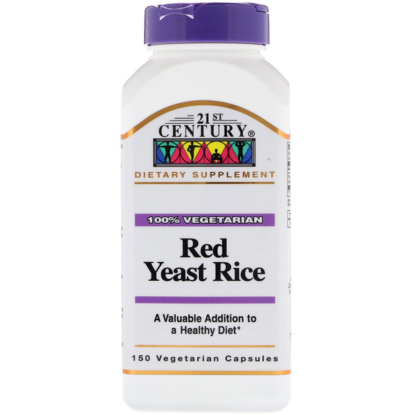 21st Century, Red Yeast Rice, 150 Vegetarian Capsules
