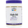 21st Century, Fish Oil, Omega-3, 1000 mg, 300 Softgels