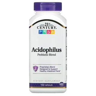 21st Century, смесь ацидофильных пробиотиков, 150капсул