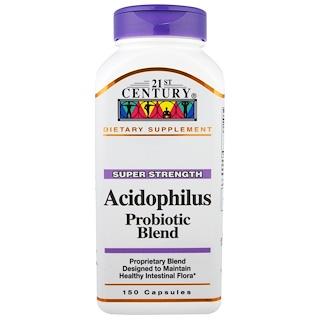 21st Century, 애시도필러스(Acidophilus) 프로바이오틱 블렌드, 150 캡슐
