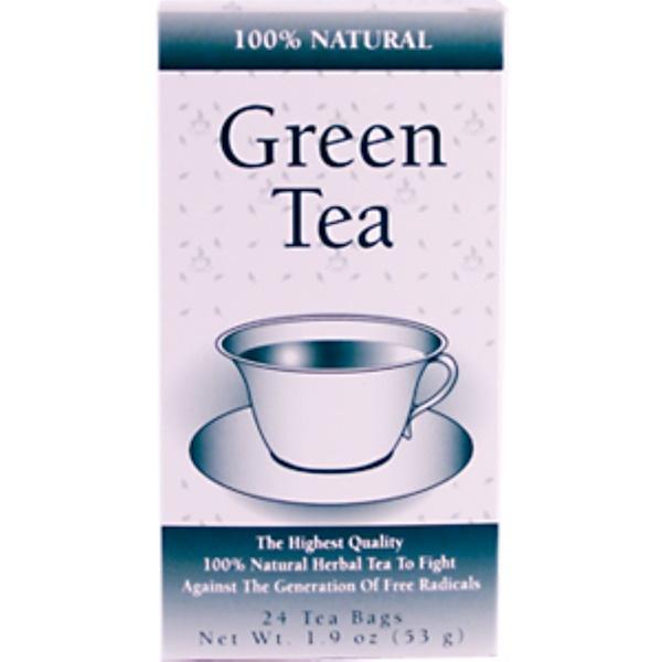 21st Century, Green Tea, 24 Tea Bags, 1.9 oz (53 g) (Discontinued Item)