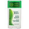 21 Сенчури, Herbal Clear Naturally,  Natural Deodorant, Aloe Fresh, 2.65 oz (75 g)