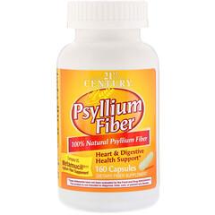 21st Century, Psyllium Fiber, 160 Capsules