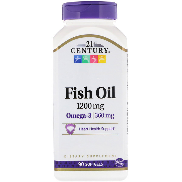 Fish Oil, 1,200 mg, 90 Softgels