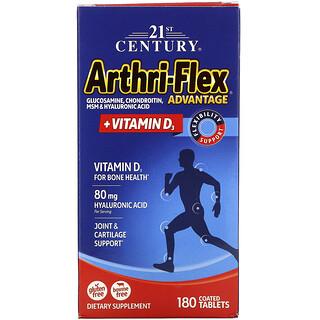 21st Century, Arthri-Flex Advantage, + vitamina D3, 180 comprimidos recubiertos
