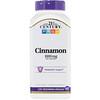 21st Century, Cinnamon, 1000 mg, 120 Vegetarian Capsules