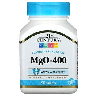 21st Century, MgO-400, 90 Tablets