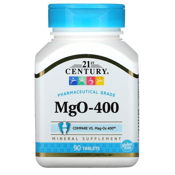 MgO-400, 90 Tablets