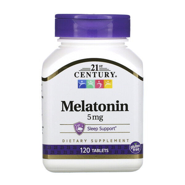 Melatonin, 5 mg, 120 Tablets