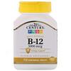 21st Century, B-12, 5000 mcg, 110 sublinguale Tabletten