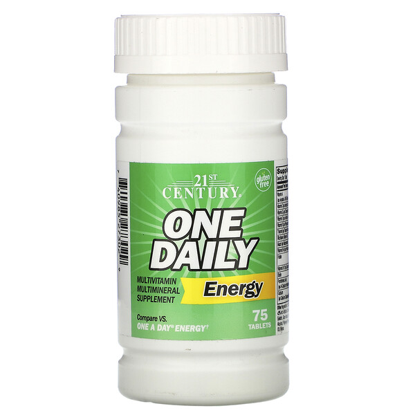 One Daily Energy, 75 Tablets
