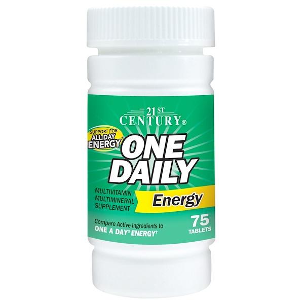 21st Century, 每日一片能量片,75片