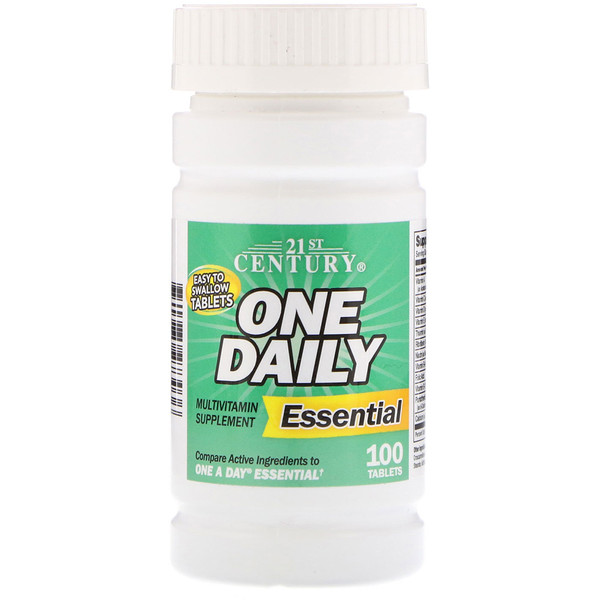 One Daily, Essential, 100 Tablets