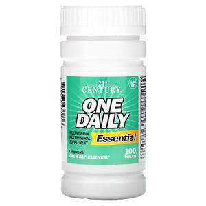 21 Сенчури, One Daily, Essential, 100 Tablets отзывы покупателей