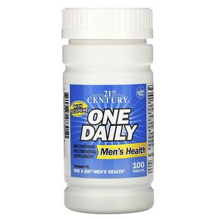 21st Century, أقراص لمرة واحدة يوميًا، لصحة الرجال، 100 قرص
