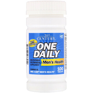 21st Century, 21世紀ヘルスケア, One Daily, Men's Health, 100 Tablets